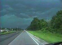 [ Gust Front Greenage - Screen grab from video ]
