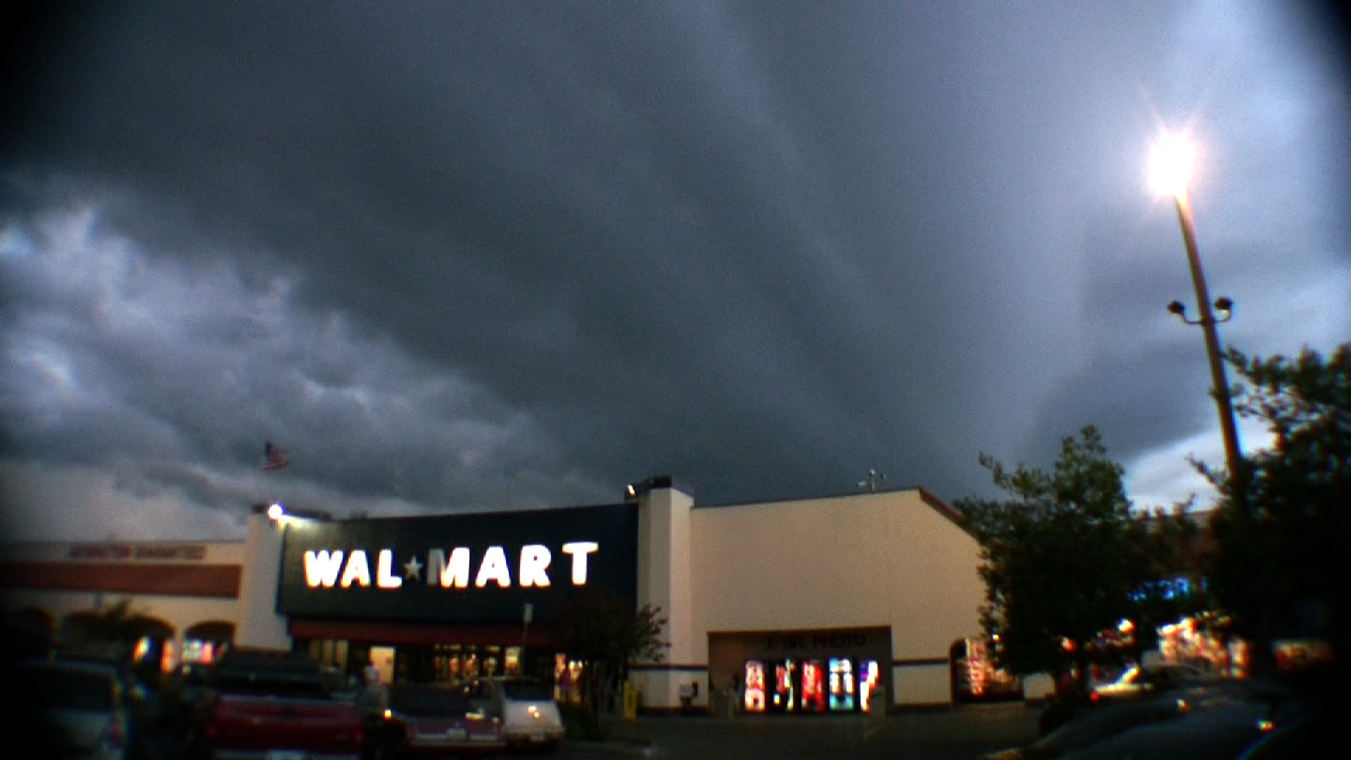 walmart multicellular thunderstorm gust front 7062008