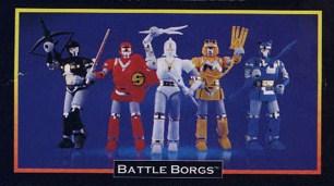 Alien Rangers Toys 12