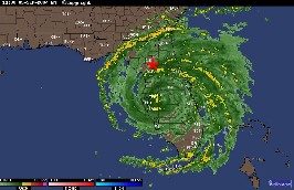 When did hurricane frances hit florida