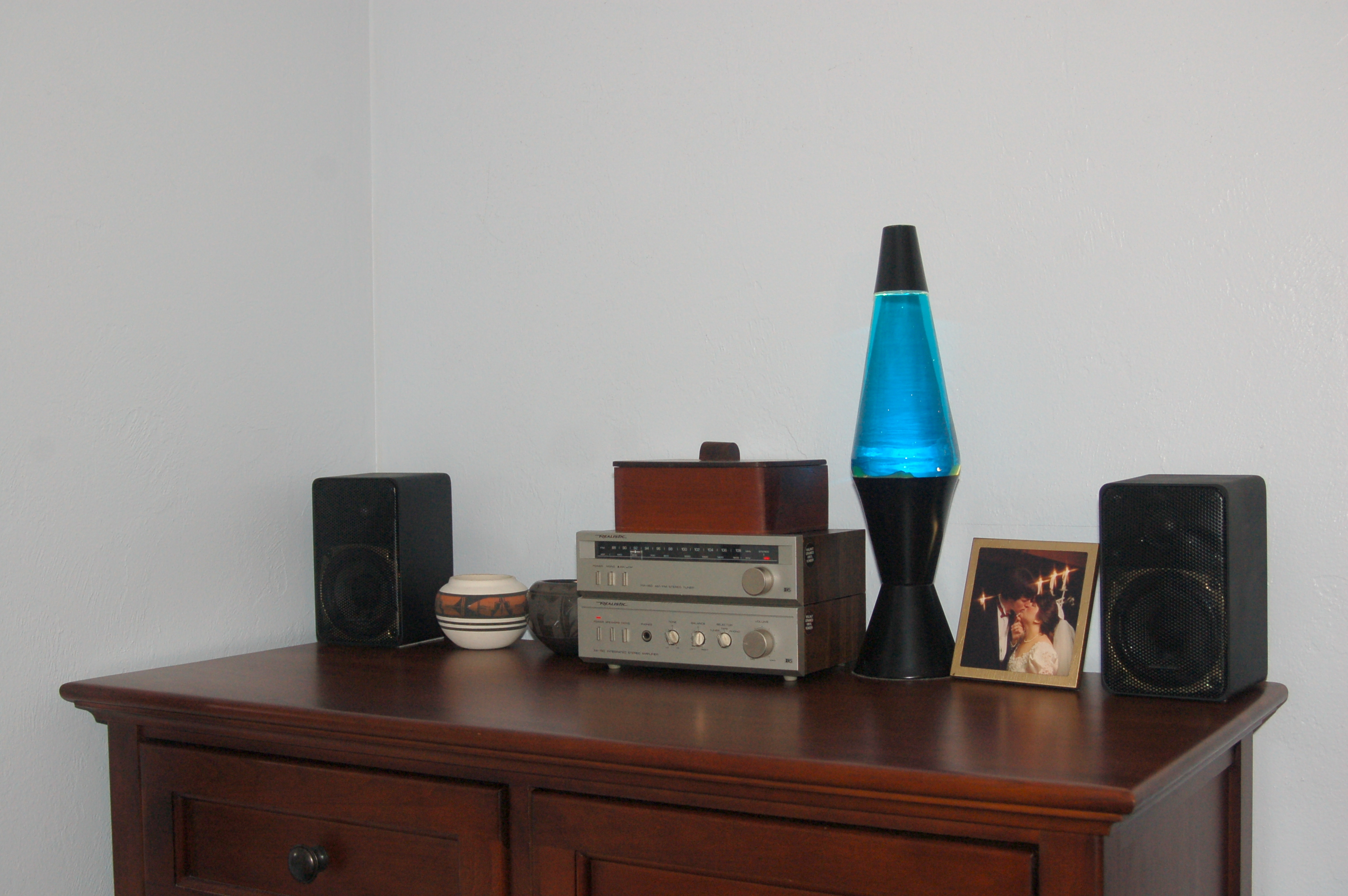 And Lastly, The Mood Music System In The Bedroom.