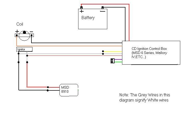 cd ignition system installed archive toyota celicasupra forums rh celicasupra com MSD 6AL 6420 Wiring-Diagram GM MSD Ignition Wiring Diagram
